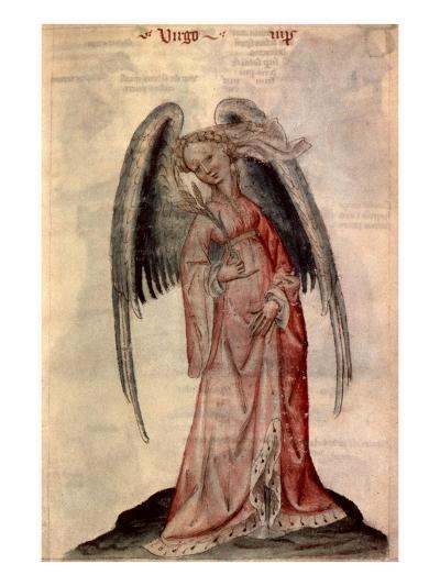 Zodiac: Virgo The Virgin- Albumasar-Giclee Print