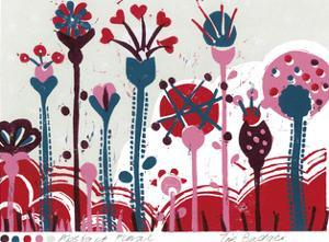 Abstract Floral by Zoe Badger