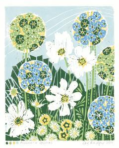 Allium and Cosmos by Zoe Badger