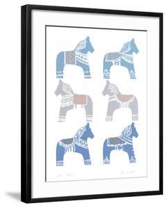 Dala Horse by Zoe Badger