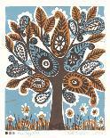 Happy Bird-Zoe Badger-Giclee Print