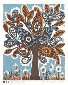 Paisley Tree by Zoe Badger