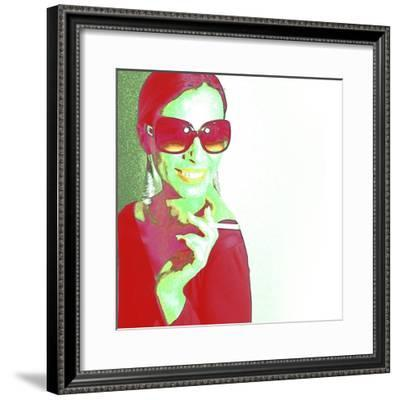 Zoe-NaxArt-Framed Premium Giclee Print
