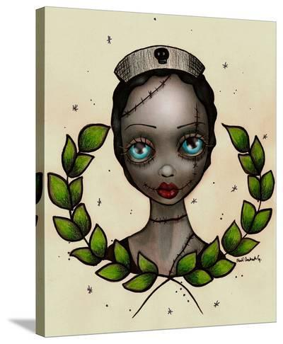 Zombie Nurse-Abril Andrade-Stretched Canvas Print
