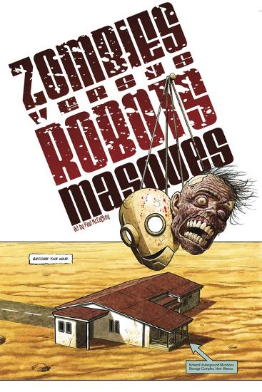 Zombies vs. Robots - Bonus Material-Paul McCaffrey-Art Print
