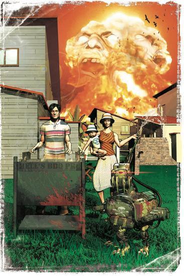 Zombies vs. Robots: More Than a Junkyard Dog-Fabio Listrani-Art Print