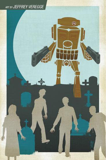 Zombies vs. Robots: No. 10 - Bonus Material-Nico Pena-Art Print