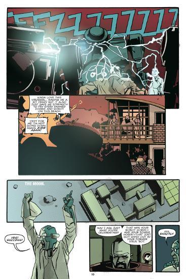 Zombies vs. Robots: No. 10 - Comic Page with Panels-Antonio Fuso-Art Print