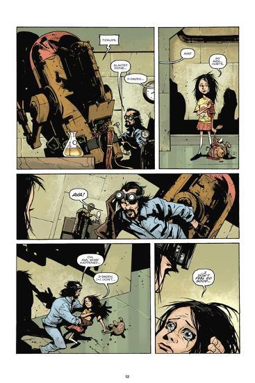 Zombies vs. Robots: No. 7 - Comic Page with Panels-Paul Davidson-Art Print