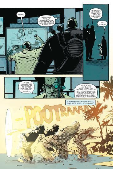 Zombies vs. Robots: No. 8 - Comic Page with Panels-Antonio Fuso-Art Print