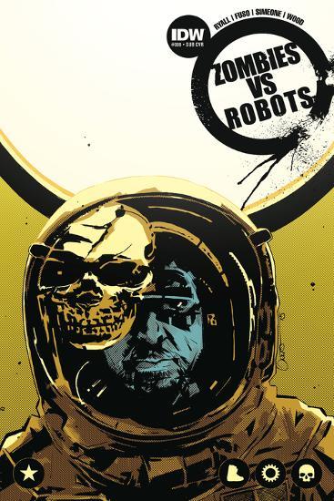 Zombies vs. Robots: No. 8 - Cover Art-Antonio Fuso-Art Print