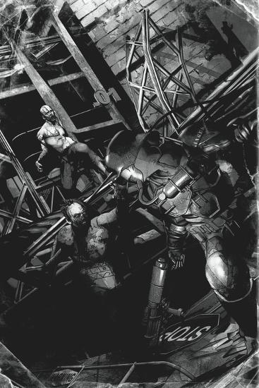 Zombies vs. Robots: No. 9 - Full-Page Art-Fabio Listrani-Art Print
