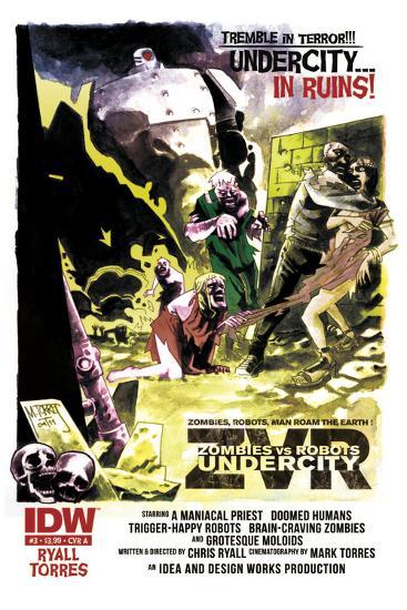 Zombies vs. Robots: Undercity - Bonus Material-Mark Torres-Art Print