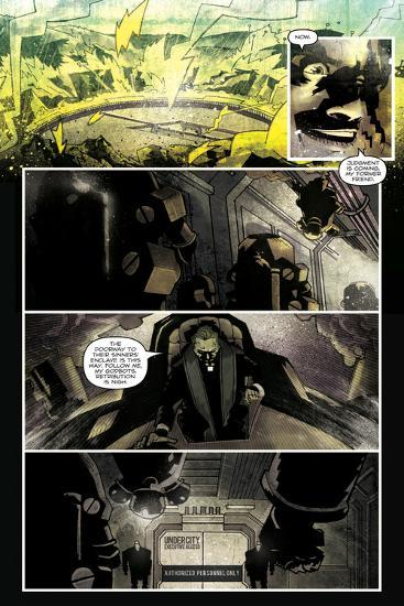 Zombies vs. Robots: Undercity - Comic Page with Panels-Mark Torres-Art Print