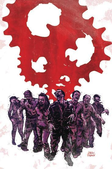 Zombies vs. Robots: Undercity - Cover Art-Garry Brown-Art Print