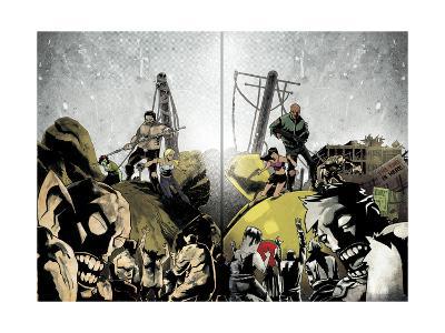 Zombies vs. Robots: Undercity - Page Spread-Mark Torres-Art Print