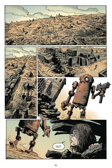 Zombies vs. Robots: Volume 1 - Comic Page with Panels-Val Mayerik-Art Print
