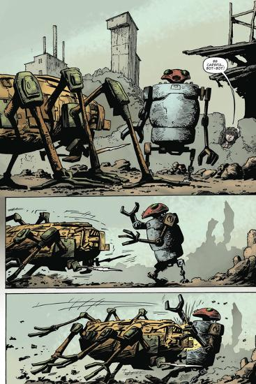 Zombies vs. Robots: Volume 1 - Comic Page with Panels-Val Mayerik-Art Print