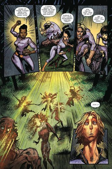 Zombies vs. Robots: Volume 1 - Comic Page with Panels-Anthony Diecidue-Art Print