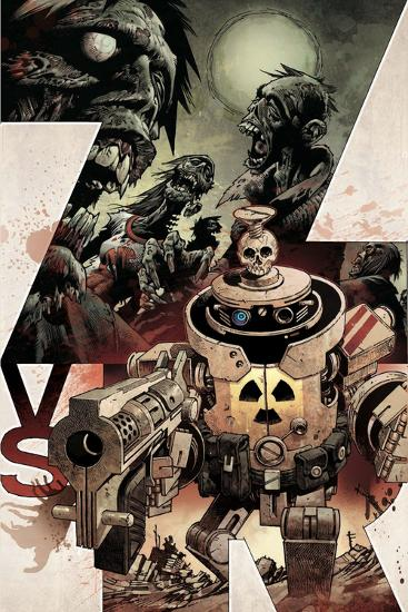 Zombies vs. Robots: Volume 1 - Cover Art-Gabriel Rodriguez-Art Print