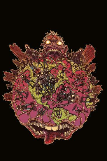 Zombies vs. Robots: Volume 1 - Cover Art-James Stokoe-Art Print