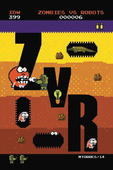 Zombies vs. Robots: Volume 1 - Cover Art-Mark Torres-Art Print