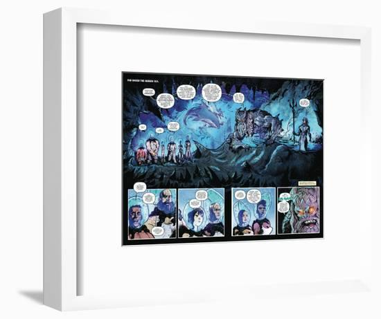 Zombies vs. Robots: Volume 1 - Page Spread with Panels-Anthony Diecidue-Framed Art Print