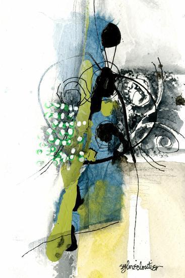 Zone Bleue-Sylvie Cloutier-Art Print