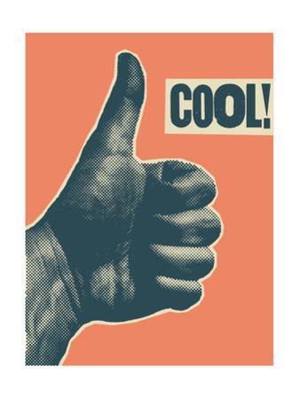Cool! - Vintage Style Thumb Up by ZOO BY