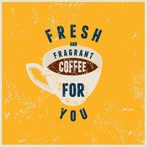 Fresh Fragrant Coffee by ZOO BY