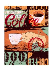 Retro Grunge Coffee by ZOO BY