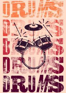 Typographical Drums by ZOO BY