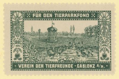 Zoo Fund, Gablonz, Bohemia--Giclee Print