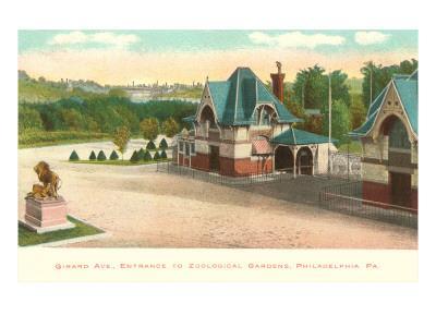 Zoo, Philadelphia, Pennsylvania--Art Print
