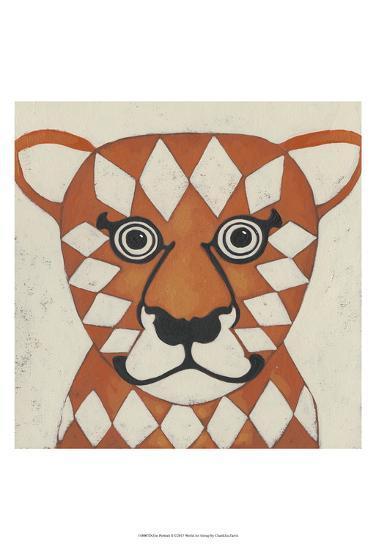 Zoo Portrait II-Chariklia Zarris-Art Print