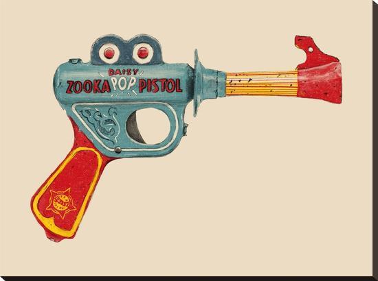 Zooka-Florent Bodart-Stretched Canvas Print