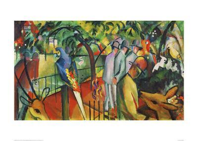 Zoological Garden I-Franz Marc-Giclee Print