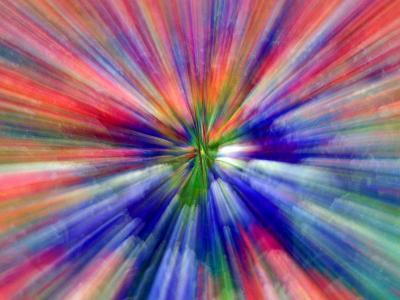 Zoom Abstract of Pansy Flowers-Charles R^ Needle-Photographic Print