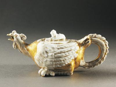 Zoomorphic Teapot, Porcelain, Germany--Photographic Print