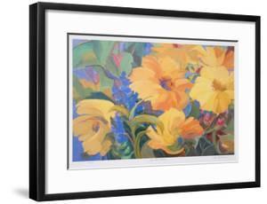 Sun Filled Flowers by Zora Buchanan