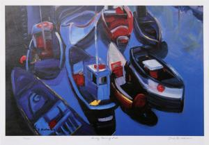 Sunday Morning Boats by Zora Buchanan
