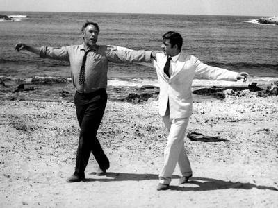Zorba The Greek 1964 Anthony Quinn movie poster print