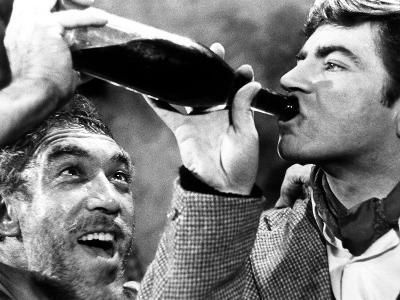 Zorba the Greek, Anthony Quinn, Alan Bates, 1964--Photo