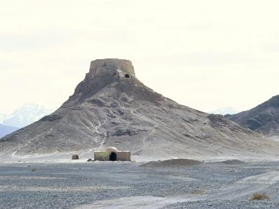 Zoroastrian Tower of Silence, Yazd, Iran, Middle East-Robert Harding-Photographic Print