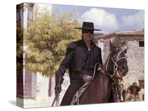 Zorro by Duccio Tessari with Alain Delon, 1975 (photo)