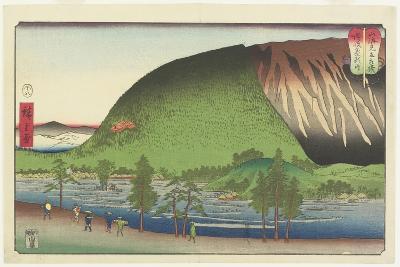 Zozu Mountain in Sanuki Provinces, August 1857-Utagawa Hiroshige-Giclee Print