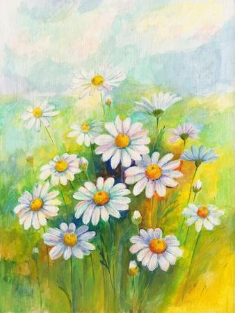 Daisies in a Flower