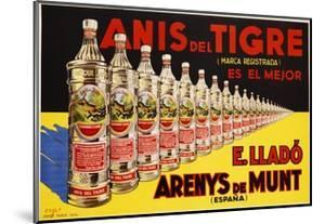 Anis Del Tigre Alcoholic Beverage Poster by Zsolt