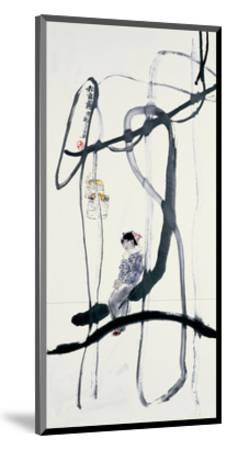 Woman on a Swing by Zui Chen