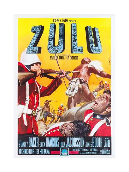 ZULU, Italian poster art, 1964.--Art Print